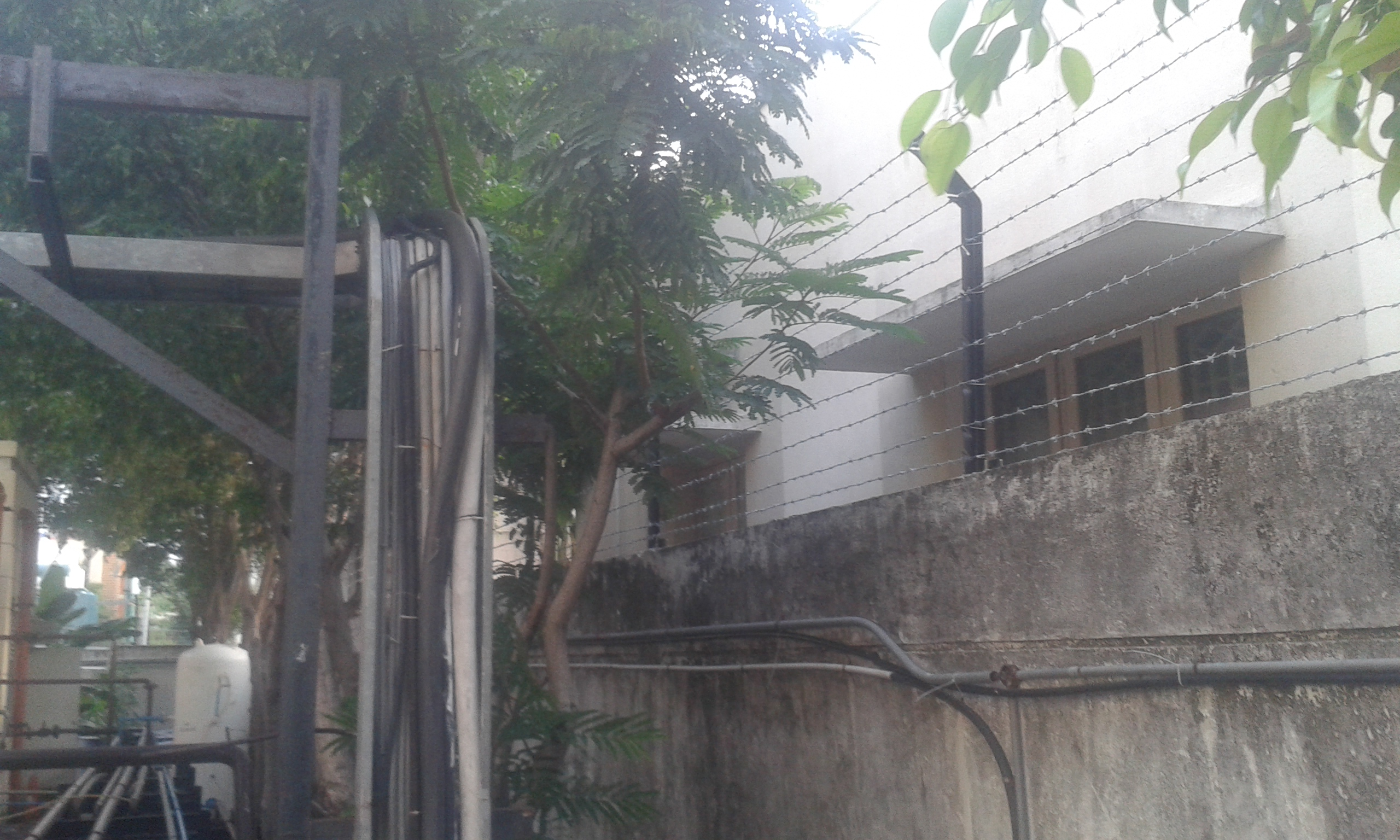 2. Finishing of fencing work