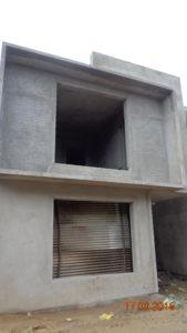 3. External plastering