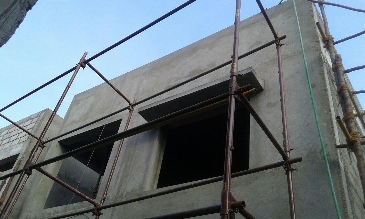 4. External plastering